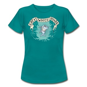 Great White Shark / Strain - female - Women's T-Shirt