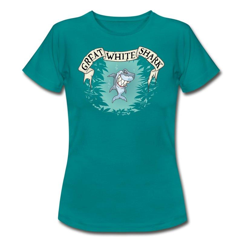 Great White Shark / Strain - female - Women's T-Shirt