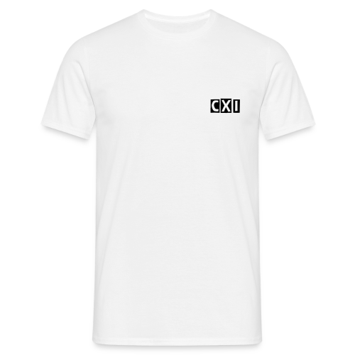 CXI Top - Small Boxed Font - Men's T-Shirt