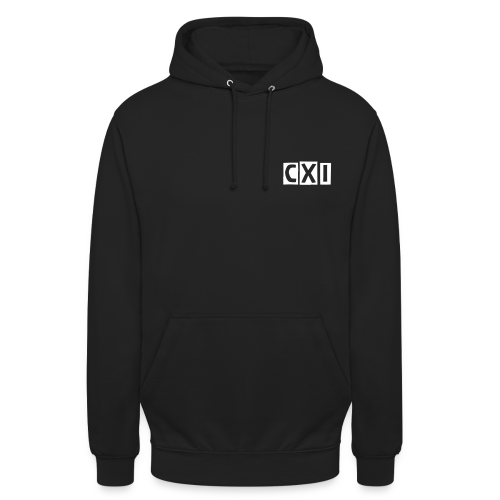 CXI Hoodie - Small Boxed Font - Unisex Hoodie