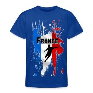 Football France - Teenage T-shirt