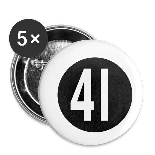 41 Button - Buttons mittel 32 mm