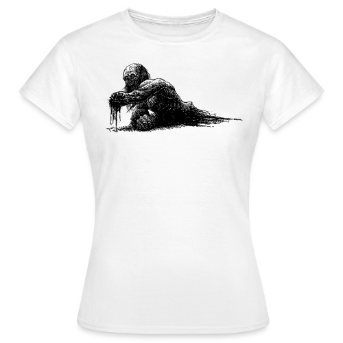 Splatter Zombie - Maglietta da donna
