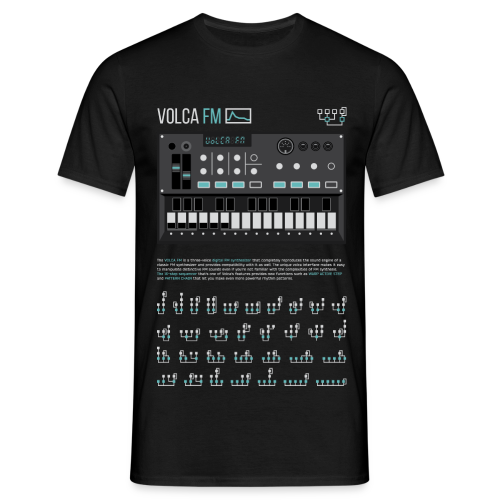 Volca FM Operators - Men's T-Shirt