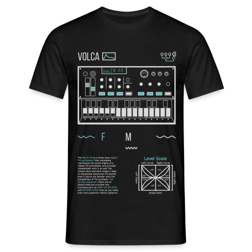 Volca FM - Men's T-Shirt
