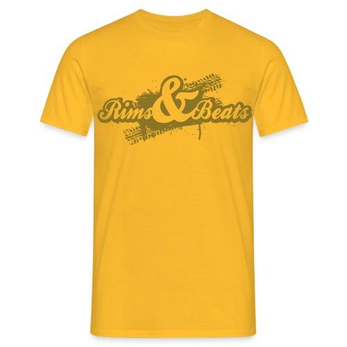T-Shirt Men Rims & Beats Logo 2016 - Männer T-Shirt