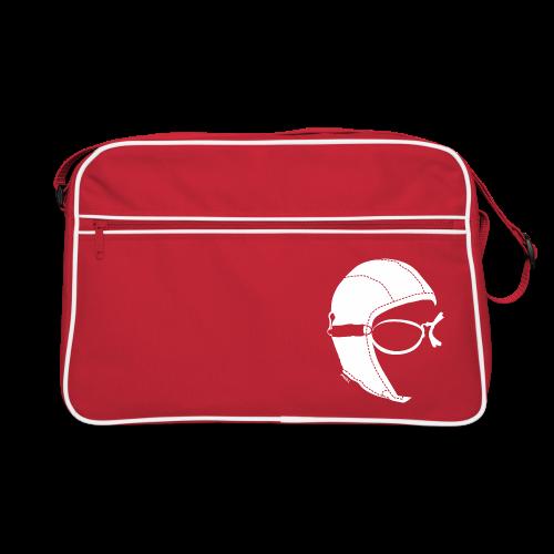 Aviator Retrò Bag Red - Borsa retrò