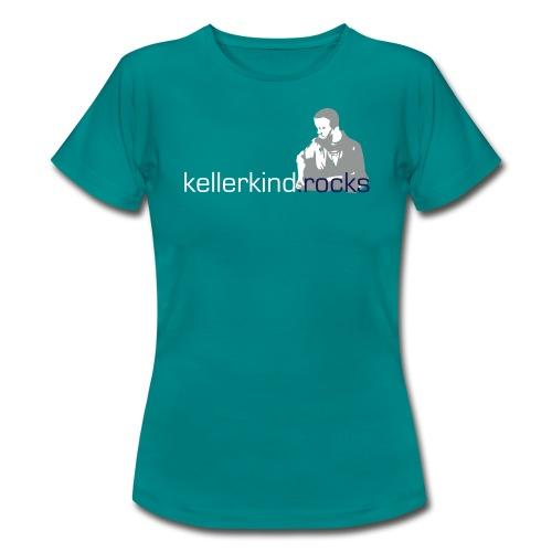 Damen Shirt, Motiv 3-farbig - Frauen T-Shirt