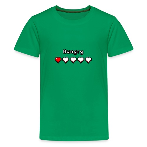 Teenage Heart Meter T-Shirt - Teenage Premium T-Shirt
