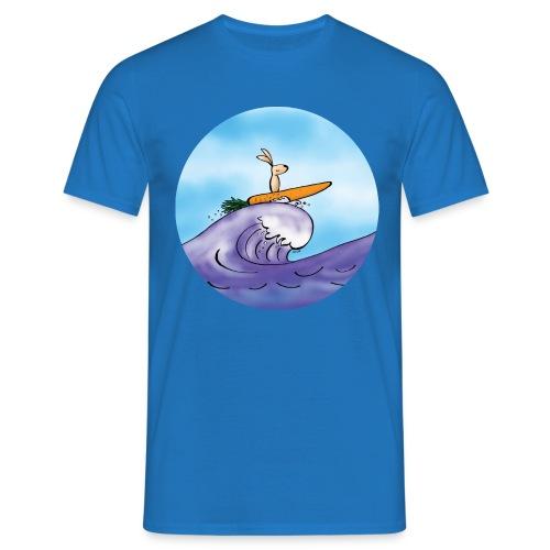 Kaninen morotssurfar - T-shirt herr - T-shirt herr