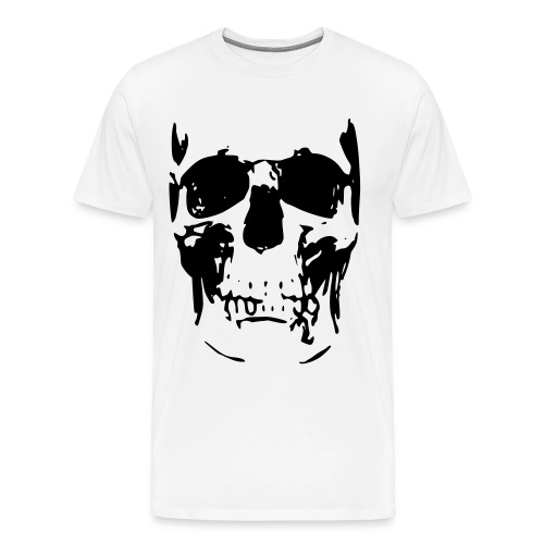 Men's Skull Printed T-Shirt - Men's Premium T-Shirt