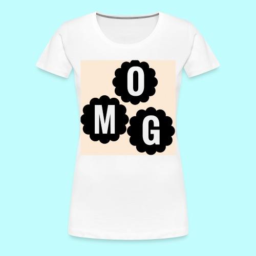 CAMISETA OMG - Camiseta premium mujer