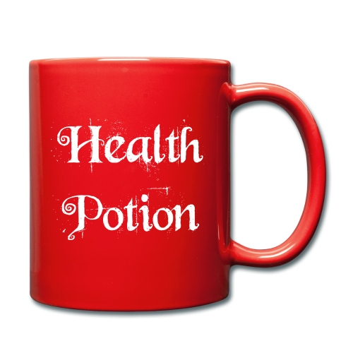 Health Potion Mug (Left Handed) - Full Colour Mug