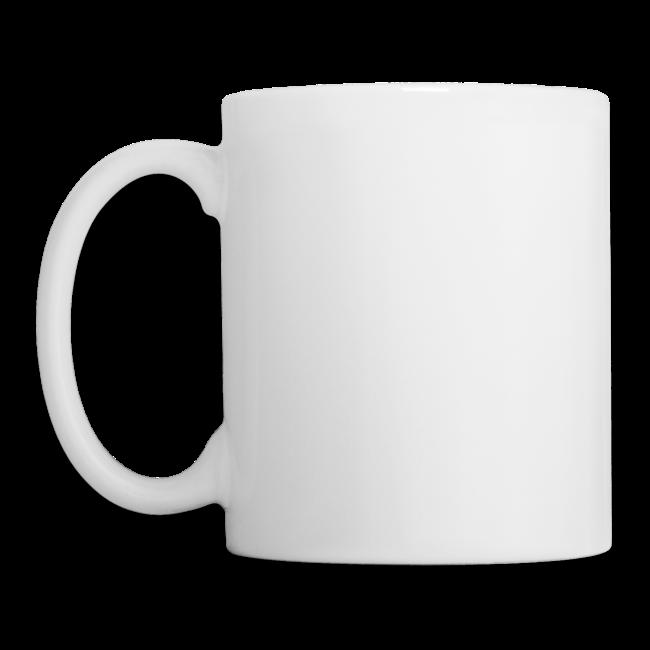 Mug with slogan