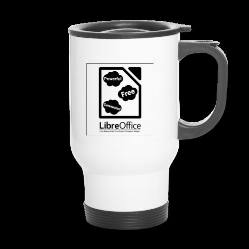 Mug with slogan on both sides - Travel Mug