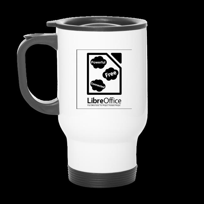 Mug with slogan on both sides