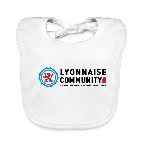 Bavoir bébé Lyonnaise Community - Bavoir bio Bébé
