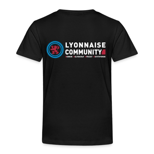 T-shirt Enfant Lyonnaise Community - T-shirt Premium Enfant