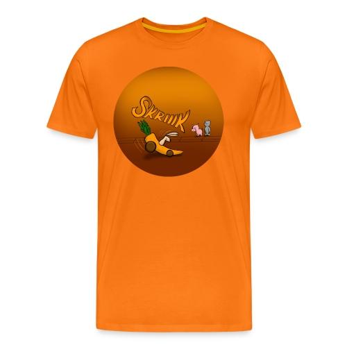 Kaninen tvärbromsar - Premium-T-shirt herr - Premium-T-shirt herr