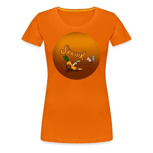 Kaninen tvärbromsar - Premium-T-shirt dam - Premium-T-shirt dam