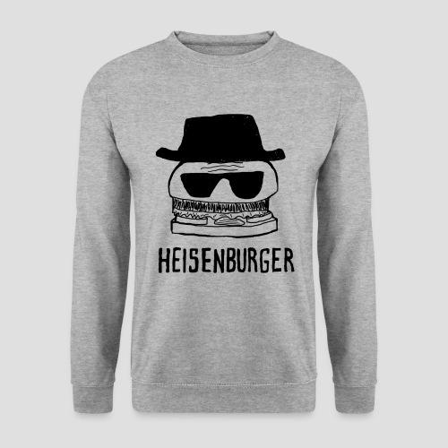 Pull Heisenburger Gris - Sweat-shirt Homme