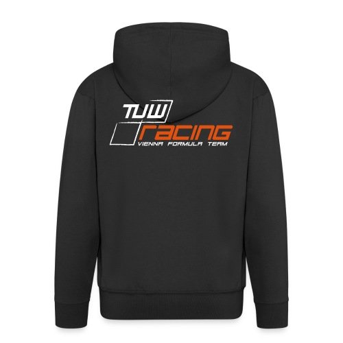 TUW-Racing Hooded Zipper Sweatshirt, Gents - Männer Premium Kapuzenjacke