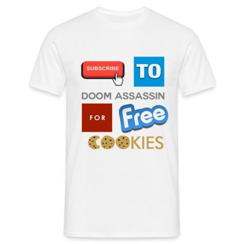 Subscribe To DooM Assassin | Tee - Men's T-Shirt
