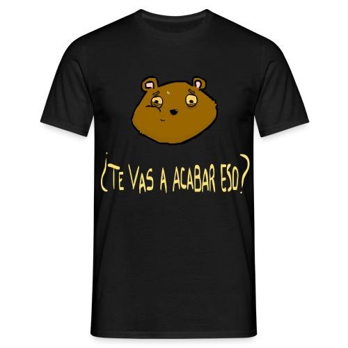 Ardilla glotona (Negro) - Camiseta hombre