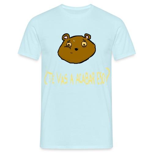 Ardilla glotona (Azul) - Camiseta hombre