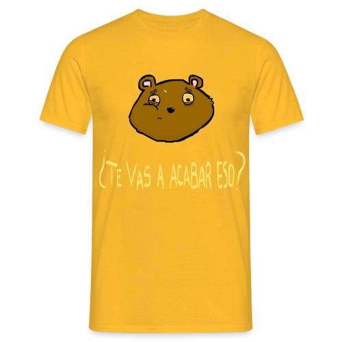 Ardilla glotona(Amarillo) - Camiseta hombre