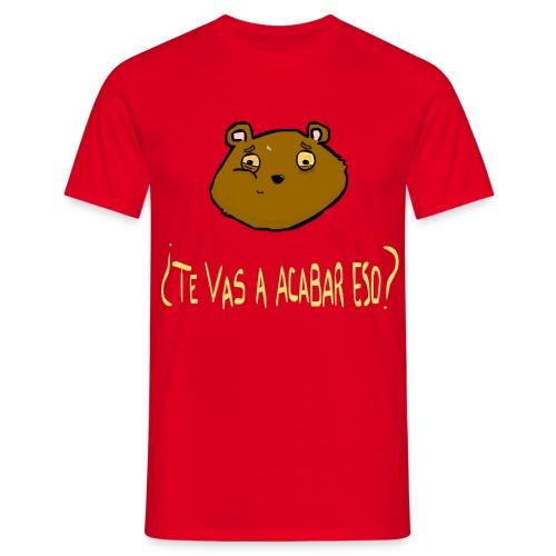 Ardilla glotona (Rojo) - Camiseta hombre