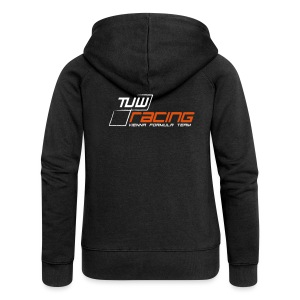 TUW-Racing Hooded Zipper Sweatshirt, Ladies - Frauen Premium Kapuzenjacke