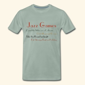 Jazz Games - Men's Premium T-Shirt