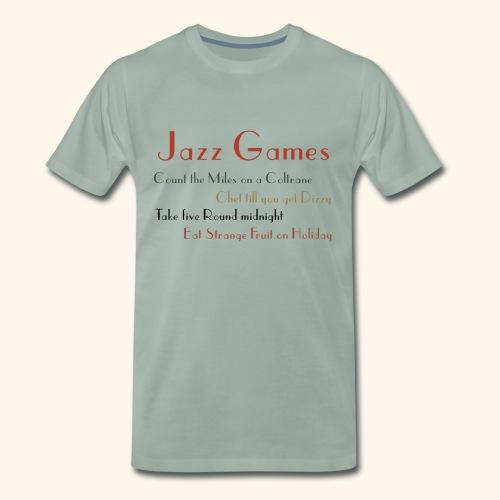 Jazz Games - Men's Premium T-Shirt