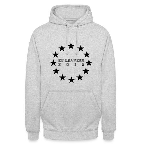 EU LEAVERS 2016 HOODY (BLACK PRINT) - Unisex Hoodie