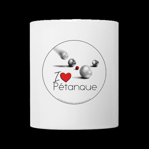 I love Pétanque Tasse - Tasse
