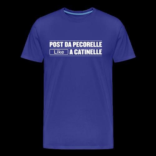 Post da PECORELLE, LIKE a catinelle - Maglietta Premium da uomo
