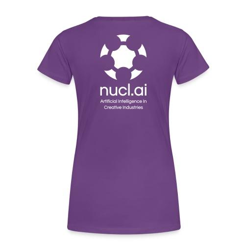 Women T-Shirt nucl.ai Conference 2016 - Women's Premium T-Shirt