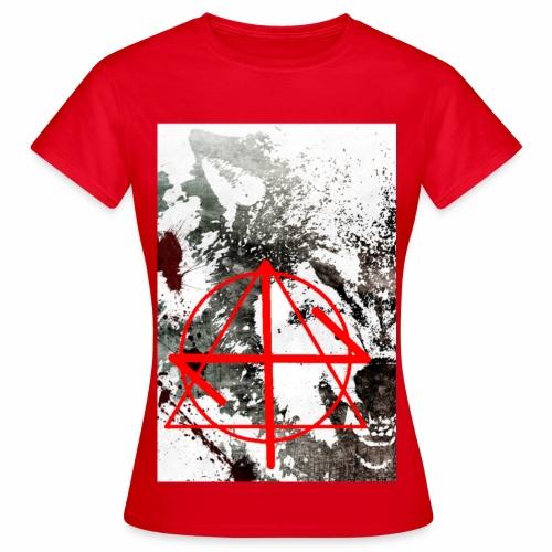 WolfstyleZ  Woman Fan T- Shirt Red - Frauen T-Shirt