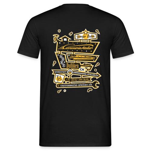FRONT- UND RÜCKENAUFDRUCK / 2-FARBIG  – T'Shirt - Männer T-Shirt