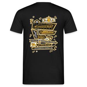 RÜCKENAUFDRUCK / 2-Farbig – T'Shirt - Männer T-Shirt