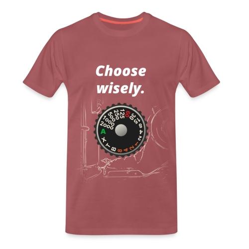 Need for Shutter Speed (Vintage Red) - Männer Premium T-Shirt