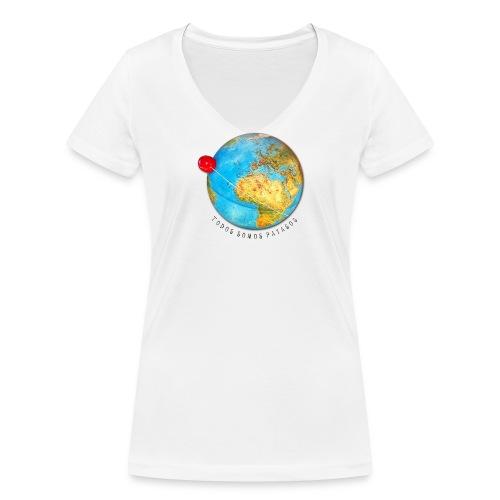 Planeta Payaso Europa - Todos somos payasos - Camiseta Mujer Cuello Pico - Camiseta ecológica mujer con cuello de pico de Stanley & Stella