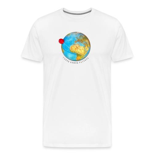 Planeta Payaso Europa - Todos somos payasos - Camiseta Hombre Premium  - Camiseta premium hombre