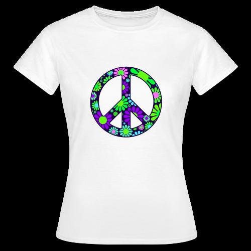 Peace Symbol Womens - Women's T-Shirt