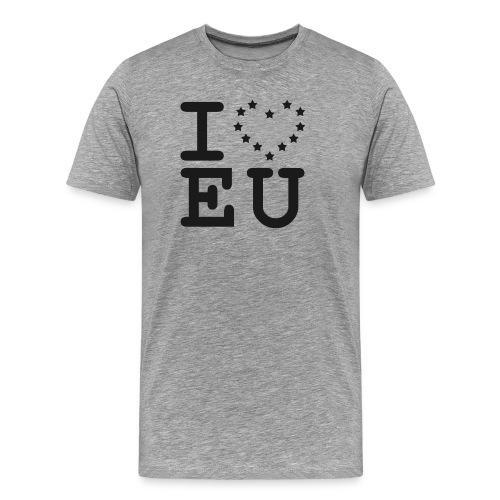 I love EU European Union Brexit - Men's Premium T-Shirt
