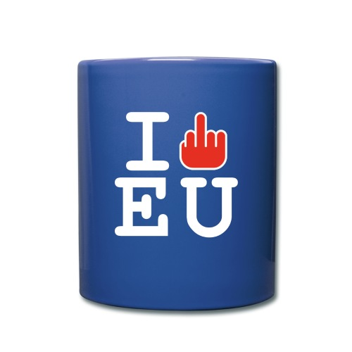 I f*ck EU European Union Brexit - Full Colour Mug