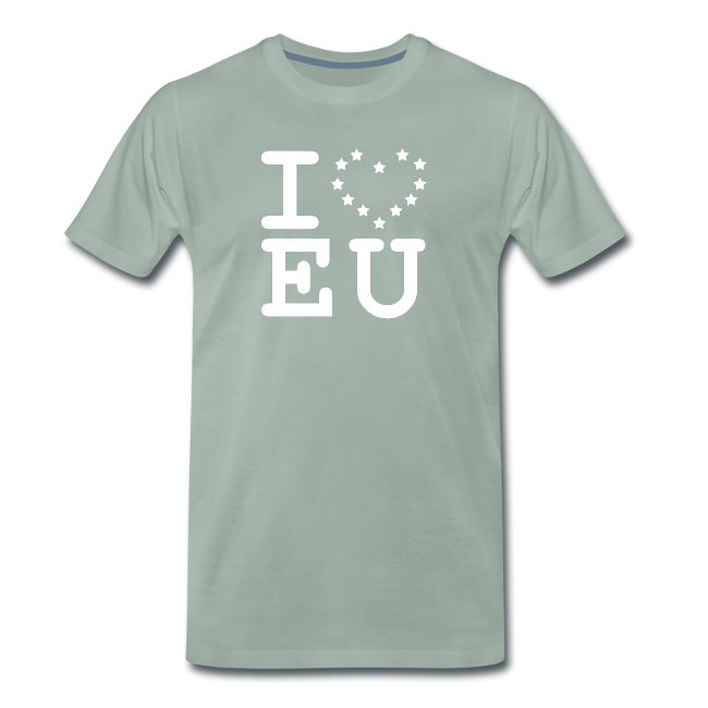 I love EU European Union Brexit