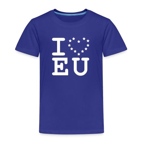 I love EU European Union Brexit - Kids' Premium T-Shirt