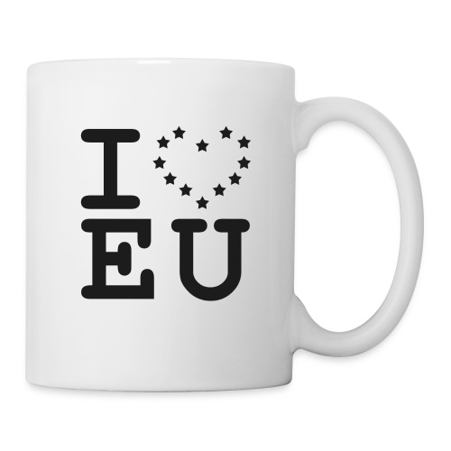 I love EU European Union Brexit - Mug